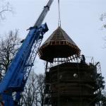Entkernen des Wasserturms Putbus