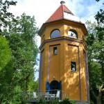 Der Park um Wasserturm Putbus